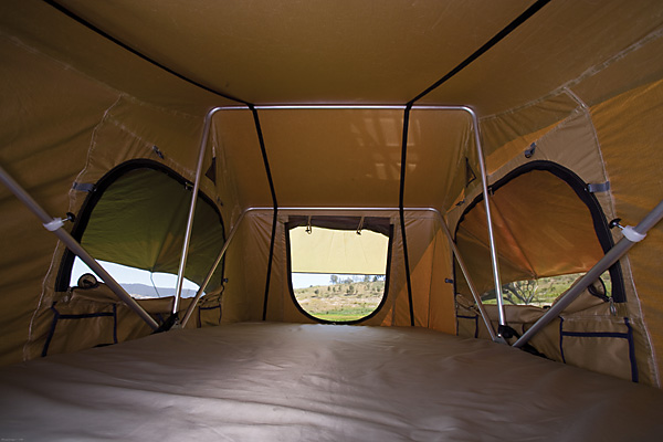 ARB rooftop tent inside