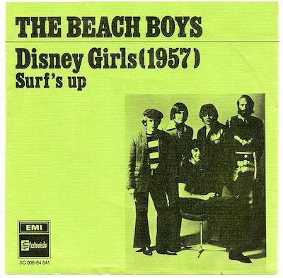 Disney_Girls_(1957) album cover