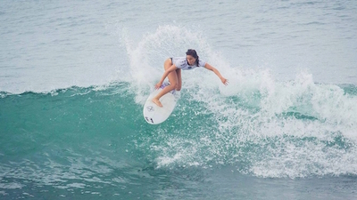 punta roca beach female surf championship
