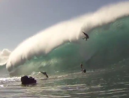 reef wave break pipeline