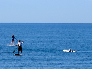 stand up paddle boarding in mexico