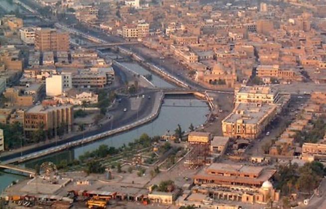 basrah city, iraq canals