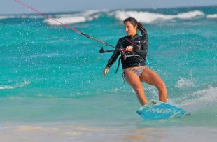 kite surfing in mexico