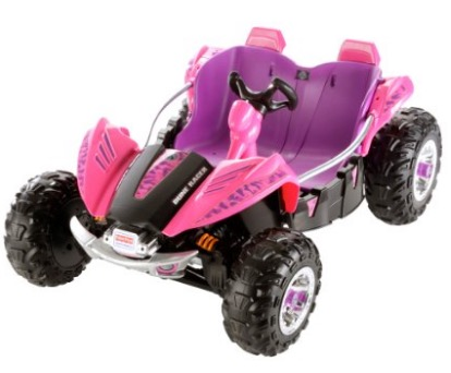 Power Wheels Camo Dune Racer, Pink review