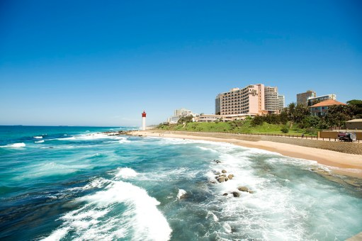 Umhlanga Rocks Lighthouse. Near Durban, South Africa.