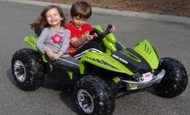 power wheels camo 4 dune buggy racer review