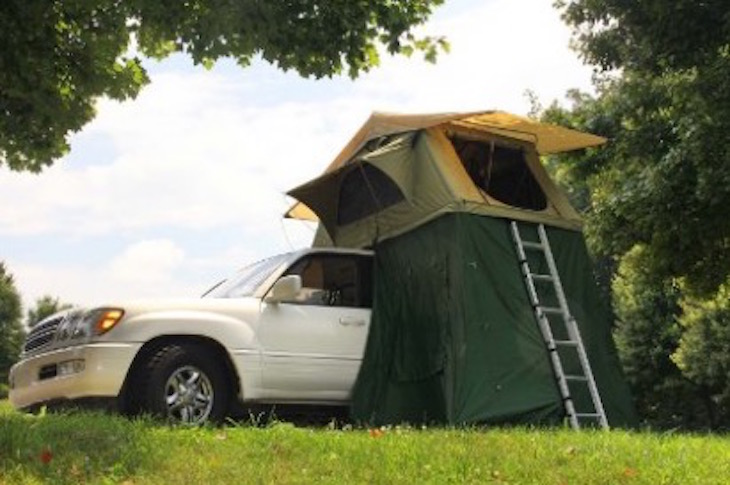 Camco 51373 Vehicle Roof Top Tent with Annex review