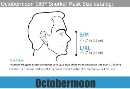 Octobermoon Snorkel Surface Scuba Mask with Gopro review