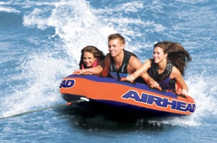 airhead superslice inflatable towable