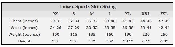 neosport full body snorkeling wetsuit measurements