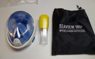 seaview 180 full face snorkel mask