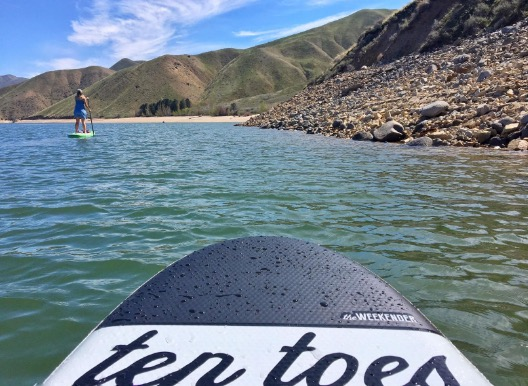 ten toes stand up paddleboard
