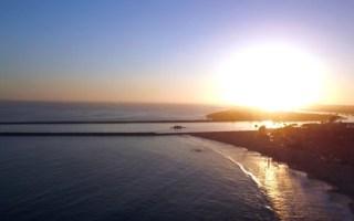 visiting newport beach california