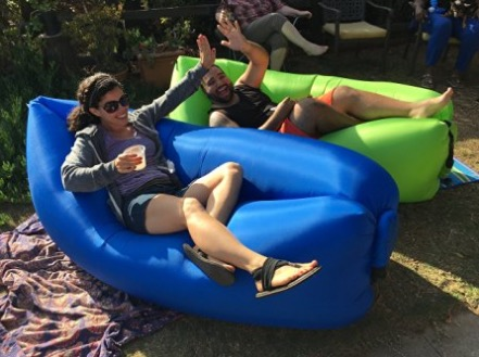 LoungeCloud - The Original Inflatable Lounger review