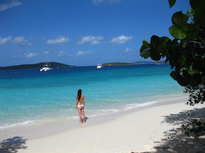 St.-John virgin islands cinnamon bay