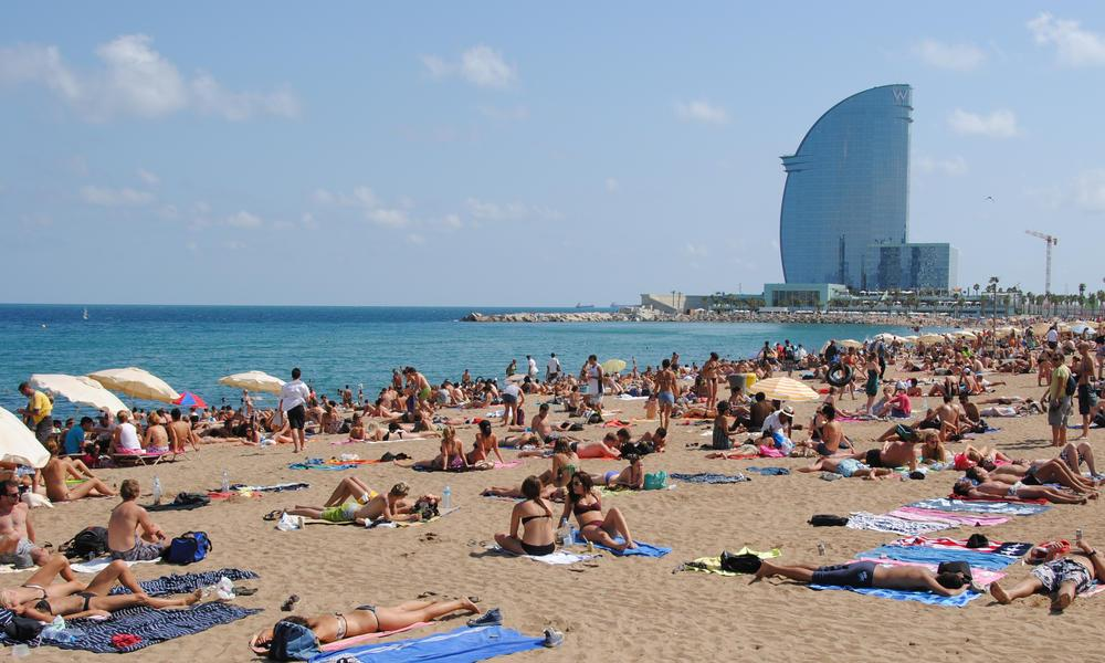 The-Steamy-Barcelona-Beach-Barcelona-Spain