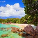 Visiting Praslin Island, Seychelles