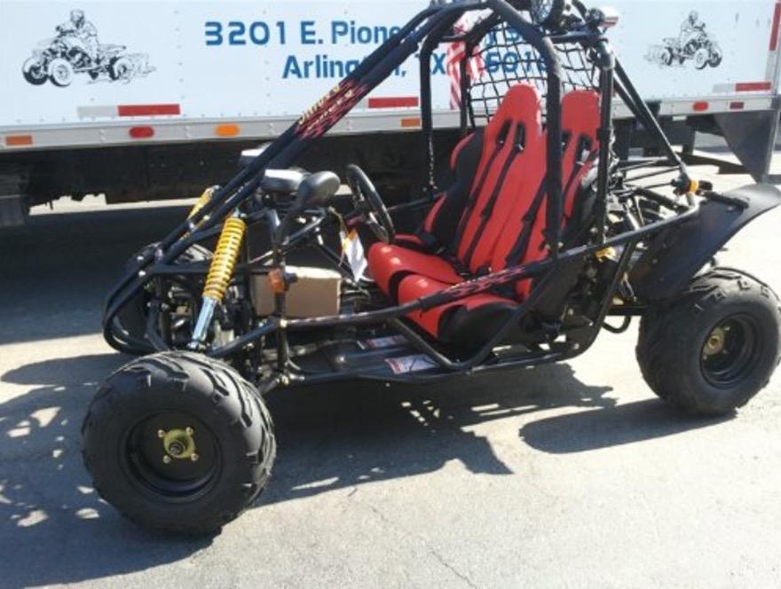 Spider K28a High End 150cc Go Kart Review Beach Baby
