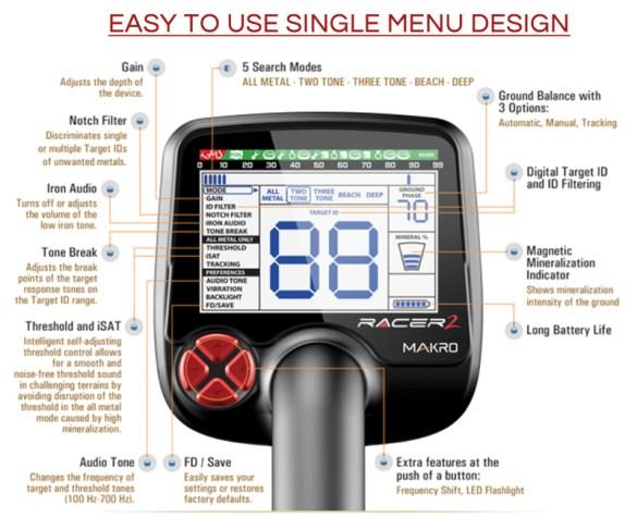 makro_racer_2_control_panel_specifications_metaldetectors4africa