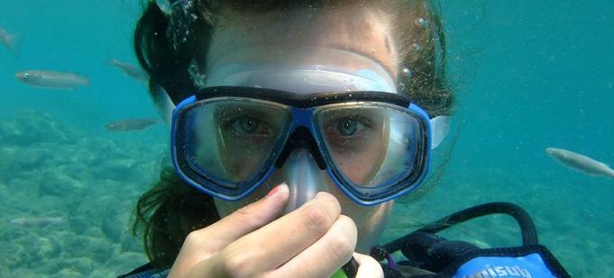 Snorkel mask guide