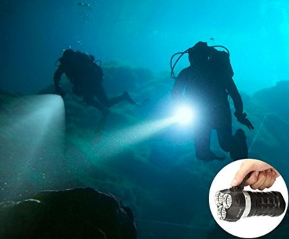 ThorFire Scuba Diving Flashlight 2000 Lumen