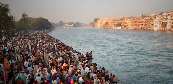The Ganges River in India