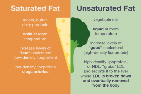 saturated-vs-unsaturated-fat