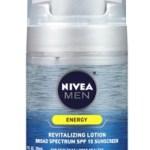 NIVEA Men Energy Broad Spectrum SPF 15 Sunscreen Review