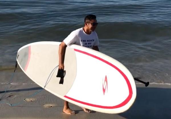 Bucerias Surf owner Oscar Ivan