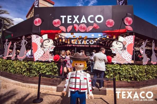 Facade of Pub Texaco
