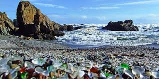 Glass Beach Mendocino Ca.