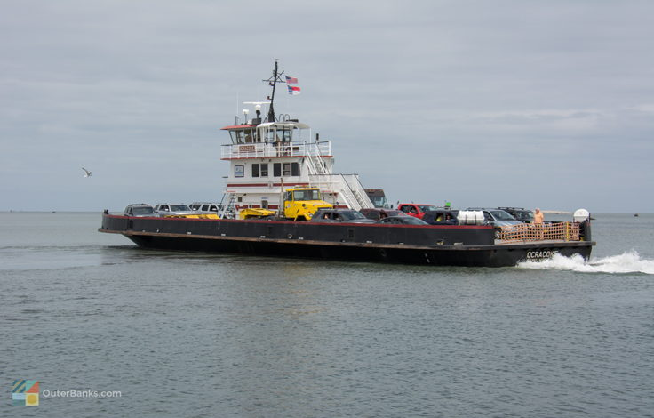 Ocracoke island Hatterras ferry