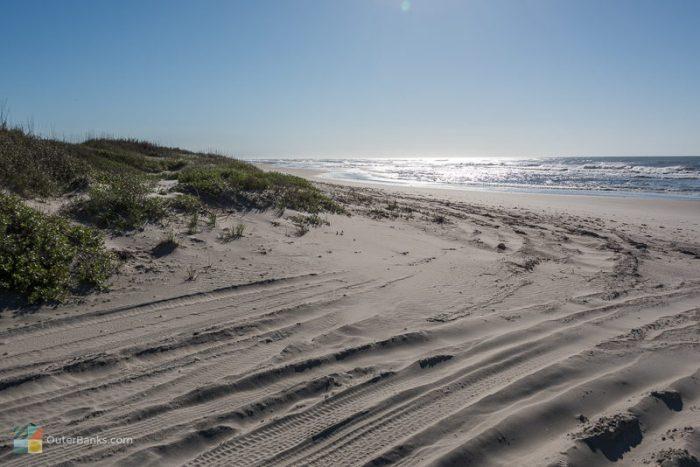 ocracoke island beach