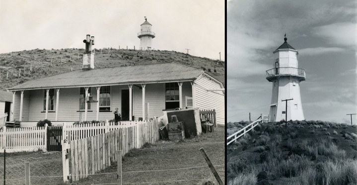pencarrow lighthouse and keepers residence 1958