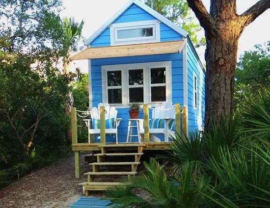 Tiny Beach Cottage House