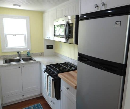 Tiny House Kitchen With Island: Tiny (RV) Beach House Cottage Living On St. George Island