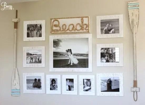 Beach Gallery Wall