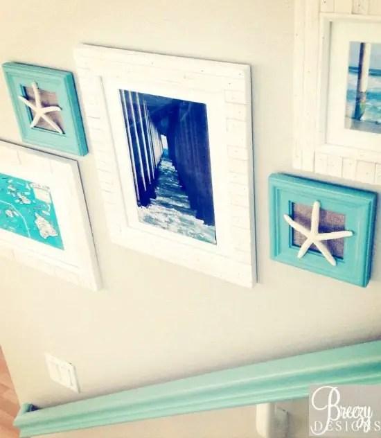 Hallway Beach Gallery Wall