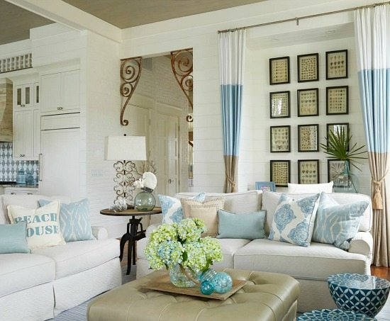 Gallery Of New Ideas Coastal Decorating Living Room With Decor Beach Nautical