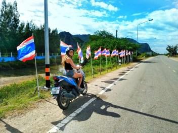 Travel Around Thailand by motorbike