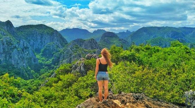 Thailand National Parks Nature View Hiking