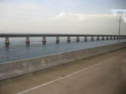 Old and New Seven Mile Bridge
