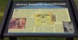 Historic Marker - African American Schoolhouse, Worton MD