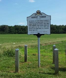 Harriet Tubman's Birthplace, Brodess Farm, Bucktown MD