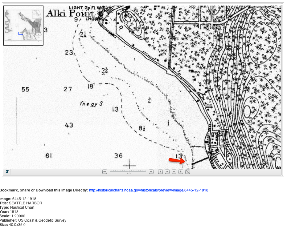Alki Beach Seattle Map.Low Tides Uncover Cool West Seattle History