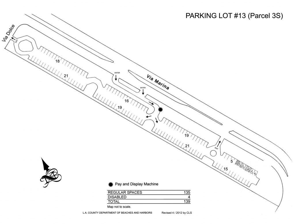 Marina Del Rey Parking Lots Beaches Amp Harbors