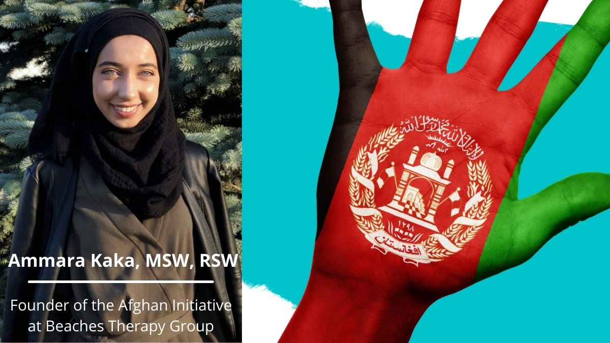 Ammara Kaka | The Afghan Initiative | Beaches Therapy Group
