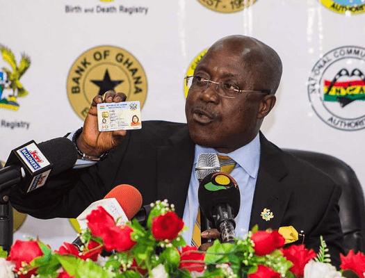 Photo of PREMIUM GHANA CARD REGISTRATION TO COST GHS250; OTHERS TO PAY GHS10P-NIA BOSS