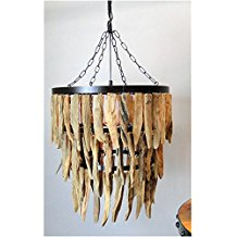 3 Driftwood Theme Chandelier The Best Beach Themed Chandeliers You Can