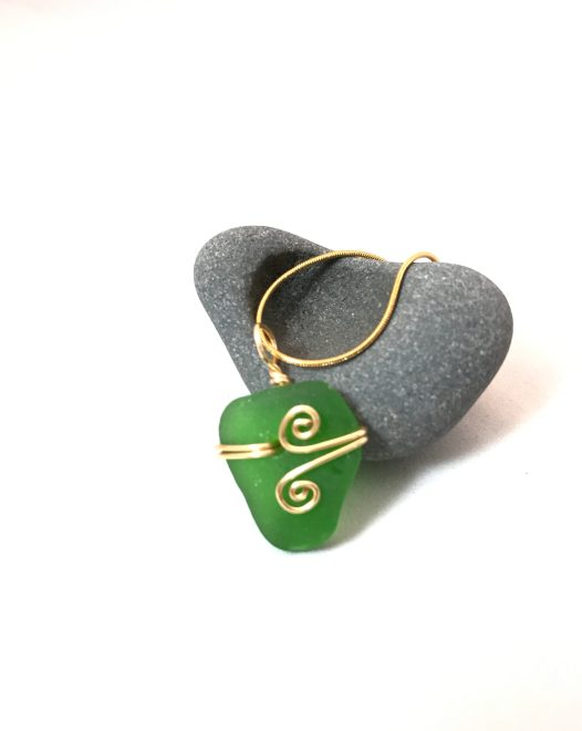 Simply Green Necklace